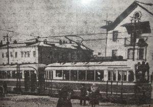 Первый левобережный поезд КТМ-КТП-1 открывает движение 15 октября 1952 года