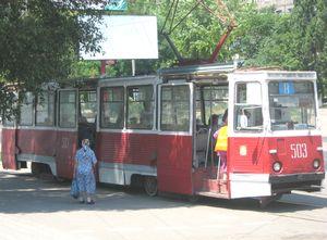 Наиболее распространённые вагоны КТМ-5 поступали в город с конца 1970-х