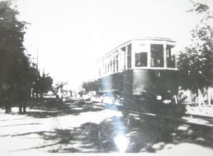 Первый трамвай мариуполя киевского производства